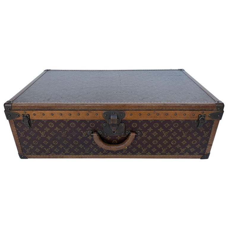 Louis Vuitton Luggage Trunk For Sale