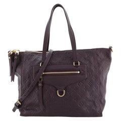 Louis Vuitton Lumineuse Handbag Monogram Empreinte Leather PM