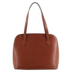 Louis Vuitton Lussac Handbag Epi Leather
