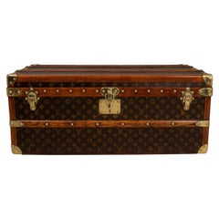 Louis Vuitton LV Monogram Aero Trunk, circa 1915