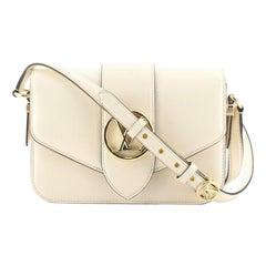 Louis Vuitton LV Pont 9 Bag Leather