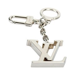 Louis Vuitton LV Silver Bag Charm Keychain