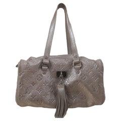 Louis Vuitton LV silver shoulder bag