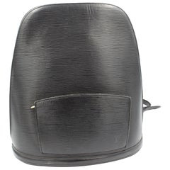 Louis Vuitton Mabillon Backpack in black epi leather