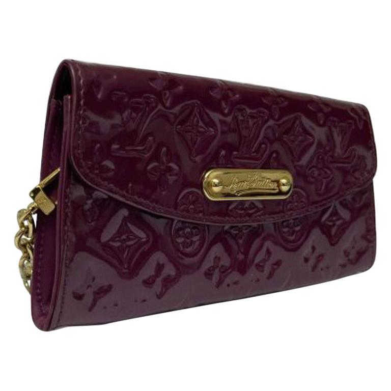 Louis Vuitton MagentaLeather Clutch Bag