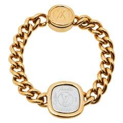 Louis Vuitton Maison Fondée en 1854 Curb Chain Bracelet