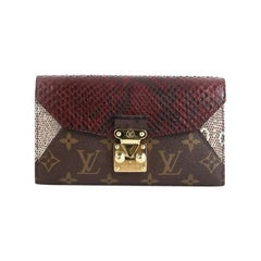 Louis Vuitton Majestueux Wallet Monogram Canvas and Exotics