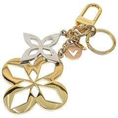 LOUIS VUITTON maltage blossom charm unisex key holder M00002 gold