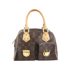 Louis Vuitton Manhattan Handbag Monogram Canvas PM