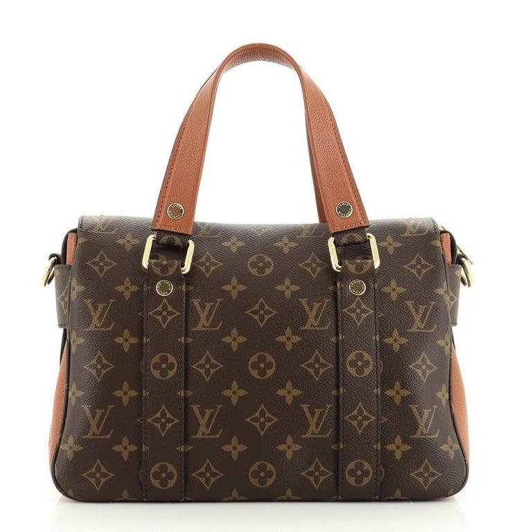 Women's or Men's Louis Vuitton Manhattan NM Handbag Monogram Canvas with Leather For Sale
