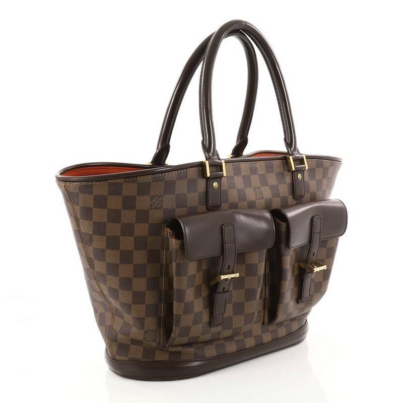 Louis Vuitton Manosque Handbag Damier Gm cgpWa