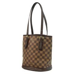 LOUIS VUITTON Marais Womens shoulder bag N42240 Damier ebene