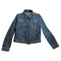 Louis Vuitton Marc Jacobs Denim Monogram Jacket (Size 36)