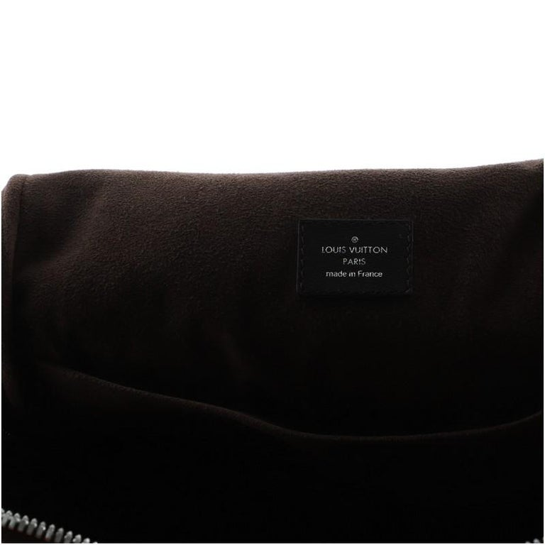 Louis Vuitton Marc Newson Backpack Shearling and Monogram Canvas For Sale 2