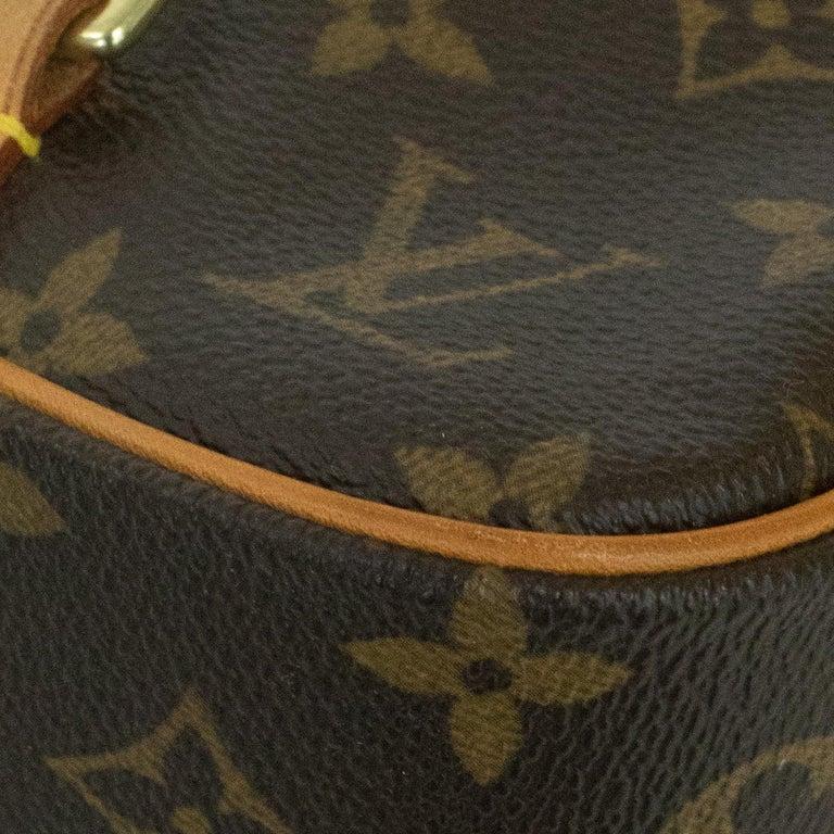 Louis Vuitton, Marelle in brown canvas 6