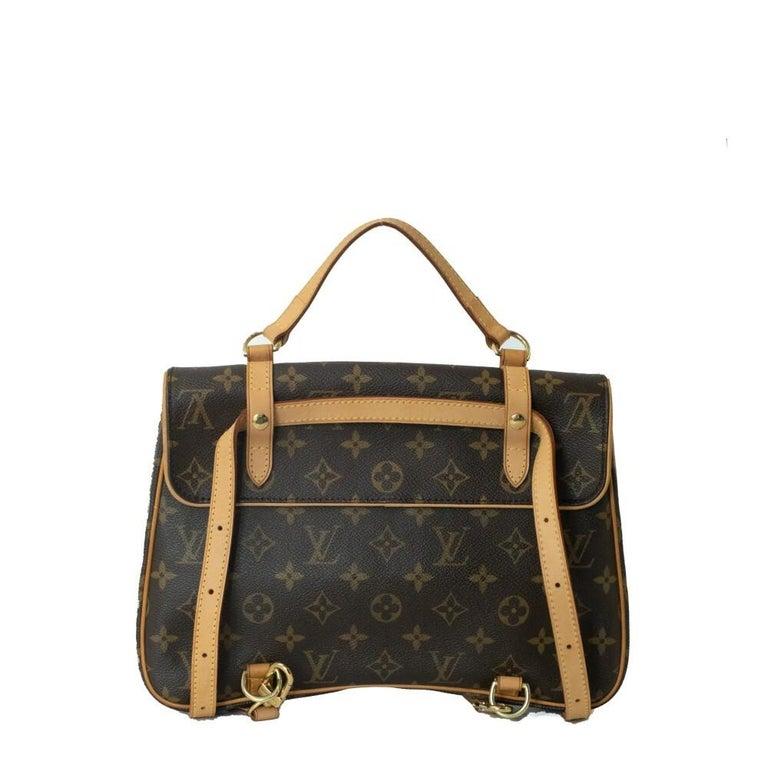 Black Louis Vuitton, Marelle in brown canvas