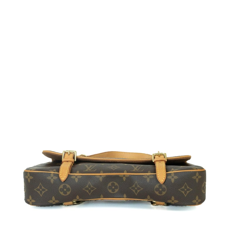 Louis Vuitton, Marelle in brown canvas In Good Condition In Clichy, FR