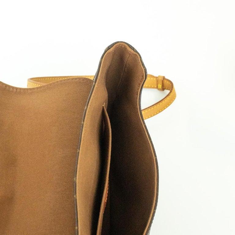 Women's Louis Vuitton, Marelle in brown canvas