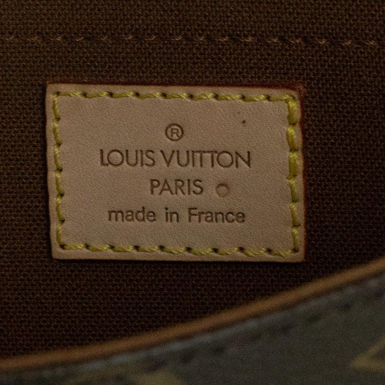 Louis Vuitton, Marelle in brown canvas 1