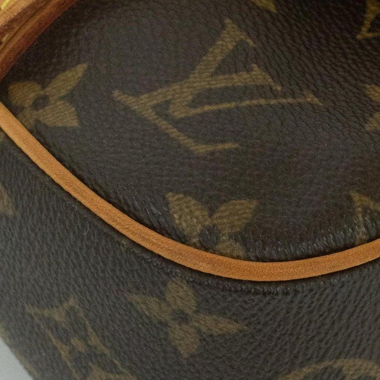 Louis Vuitton, Marelle in brown canvas 4