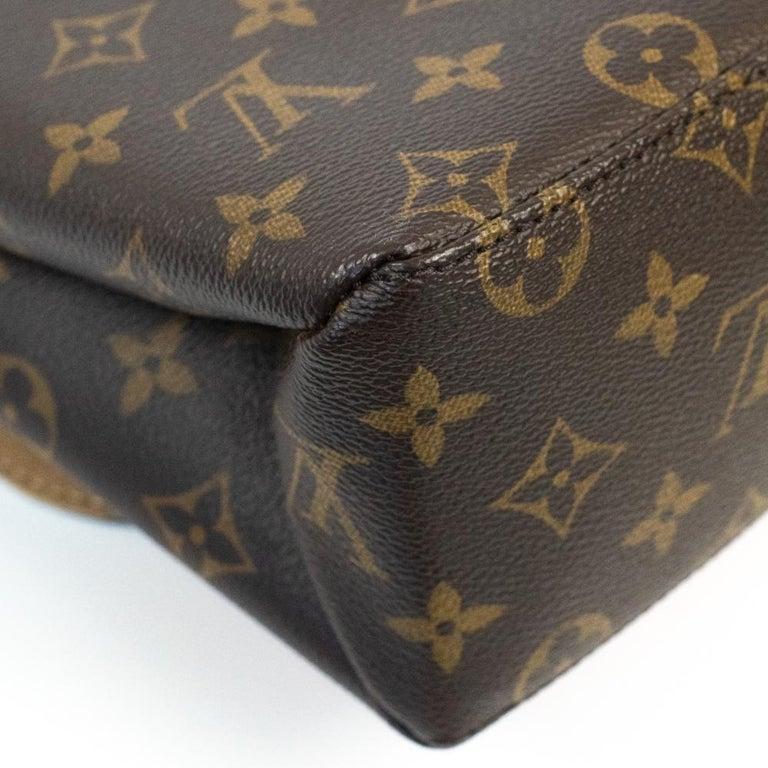 Louis Vuitton, Marignan in brown canvas 5