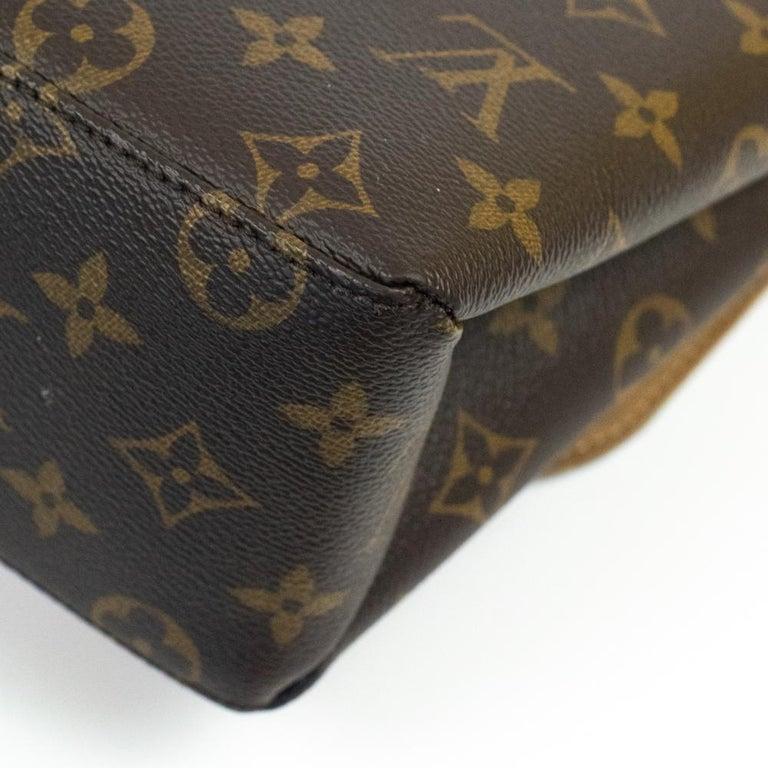 Louis Vuitton, Marignan in brown canvas 6