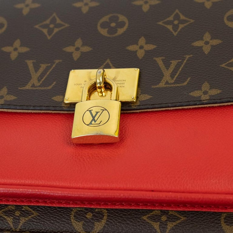 Louis Vuitton, Marignan in brown canvas 7