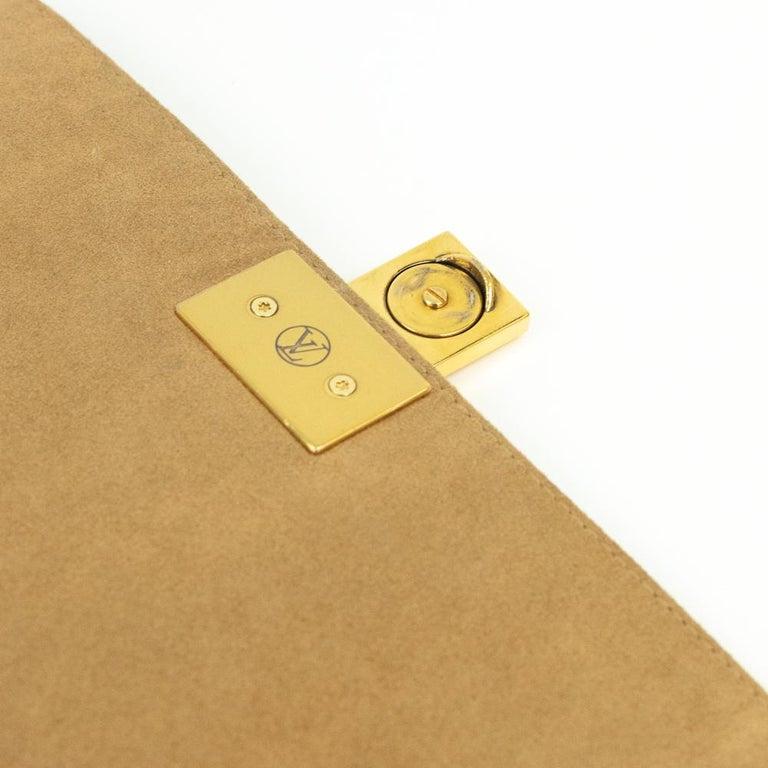 Louis Vuitton, Marignan in brown canvas 8