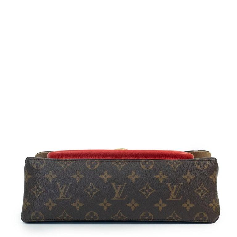 Louis Vuitton, Marignan in brown canvas In Good Condition In Clichy, FR