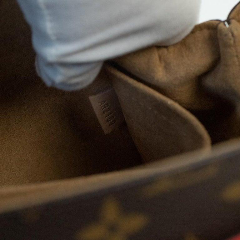 Louis Vuitton, Marignan in brown canvas 2