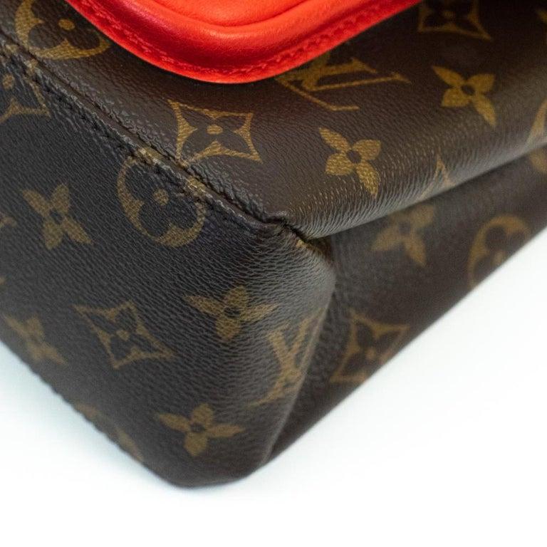 Louis Vuitton, Marignan in brown canvas 4