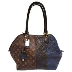 Louis Vuitton Marine Multicolor Monogram Blocks Tote Handbag