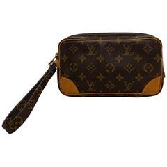 Louis Vuitton Marley Dragonne Pochette Clutch Wristlet Accessory Handbag