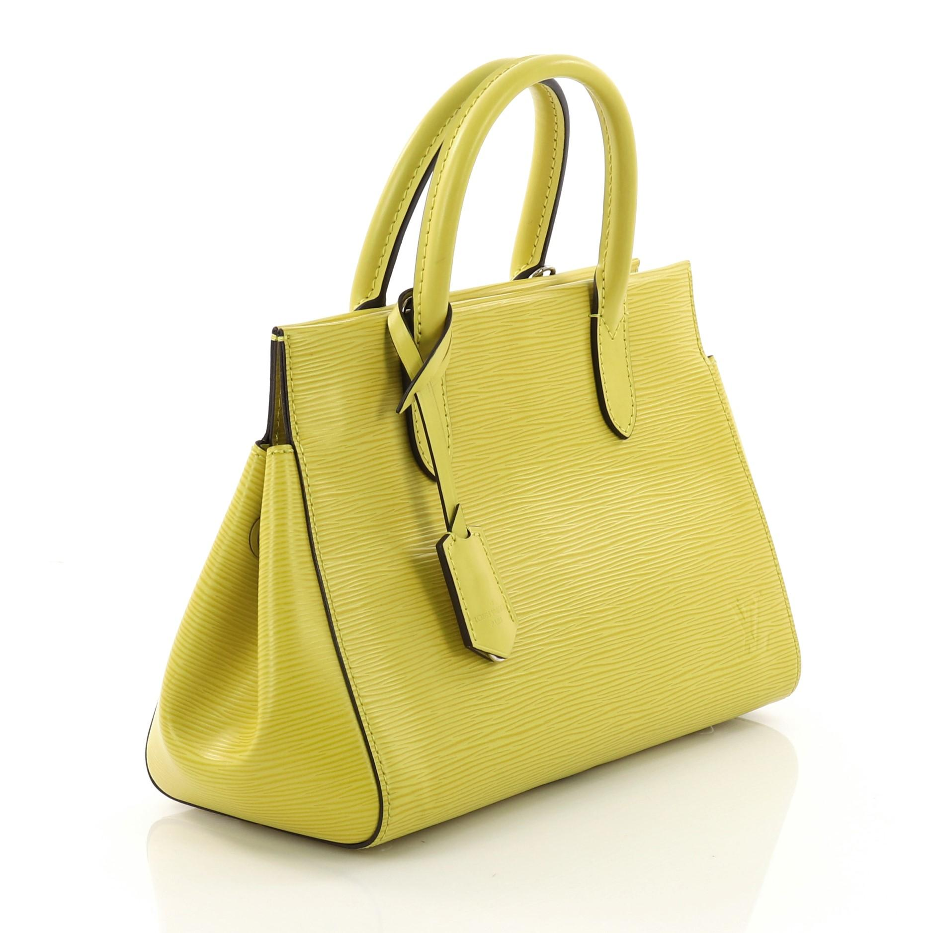 4d9675241225 Louis Vuitton Marly Handbag Epi Leather BB For Sale at 1stdibs