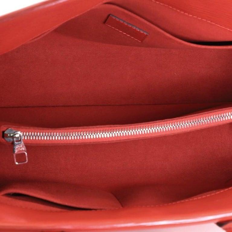 Louis Vuitton Marly Handbag Epi Leather MM 1