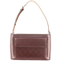 Louis Vuitton Mat Allston Handbag Monogram Vernis