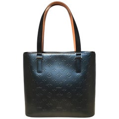 Louis Vuitton Matte Grey Vernis Houston Bag