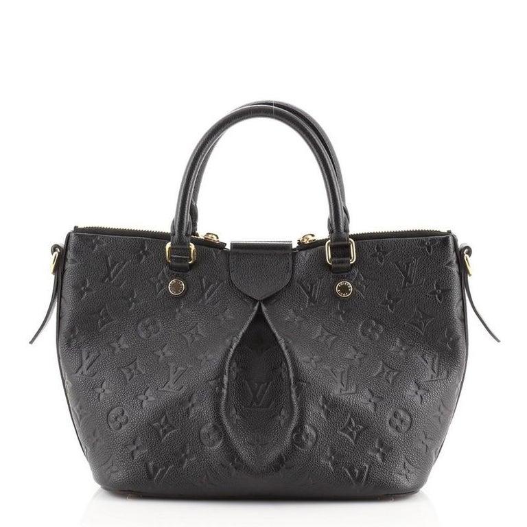 Women's or Men's Louis Vuitton Mazarine Handbag Monogram Empreinte Leather PM For Sale