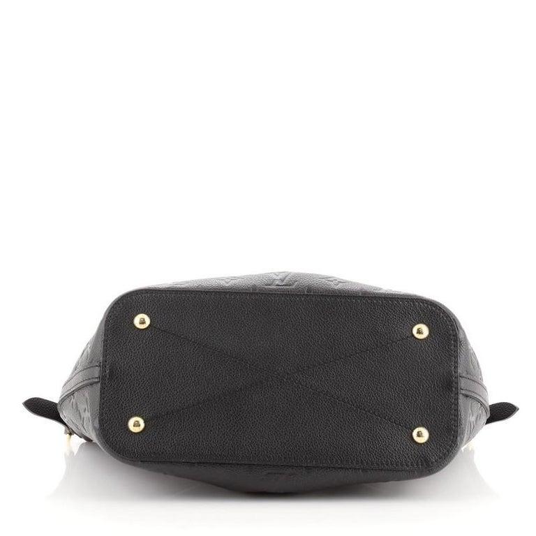 Louis Vuitton Mazarine Handbag Monogram Empreinte Leather PM For Sale 1