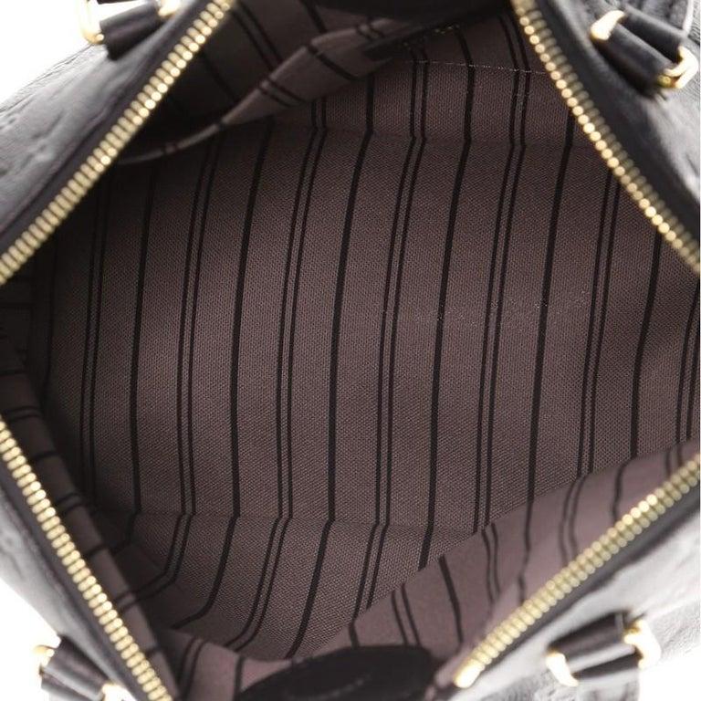 Louis Vuitton Mazarine Handbag Monogram Empreinte Leather PM For Sale 2