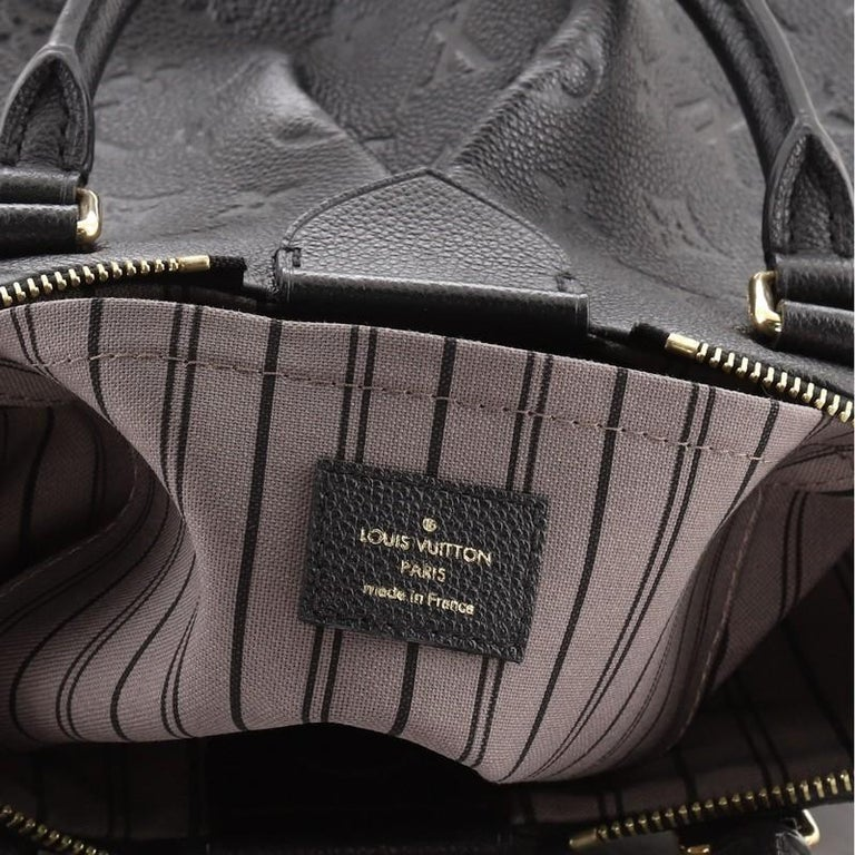 Louis Vuitton Mazarine Handbag Monogram Empreinte Leather PM For Sale 3
