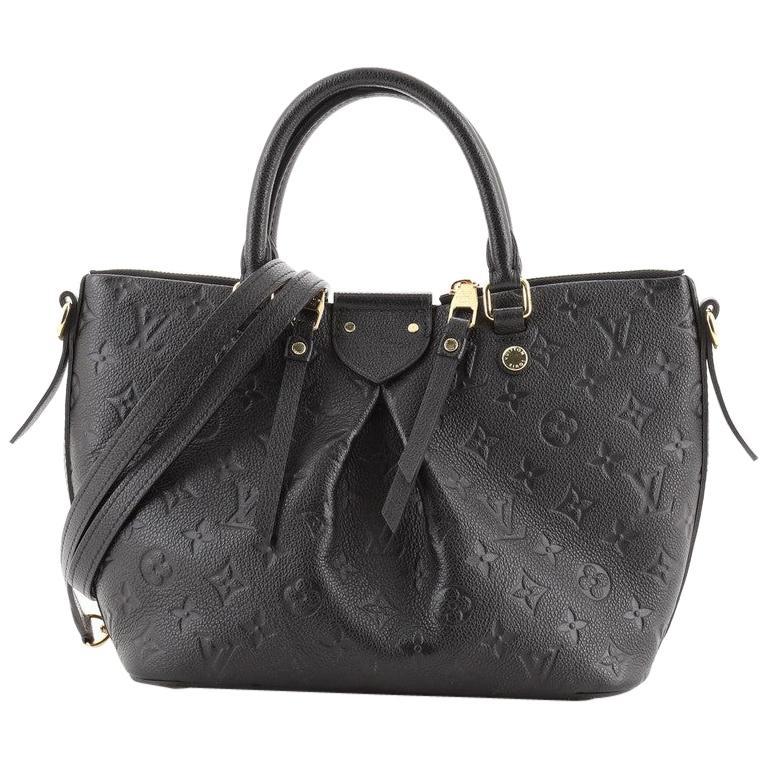 Louis Vuitton Mazarine Handbag Monogram Empreinte Leather PM For Sale