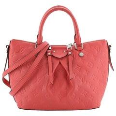 Louis Vuitton Mazarine Handbag Monogram Empreinte Leather PM