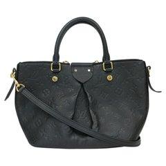 Louis Vuitton, Mazarine in black leather