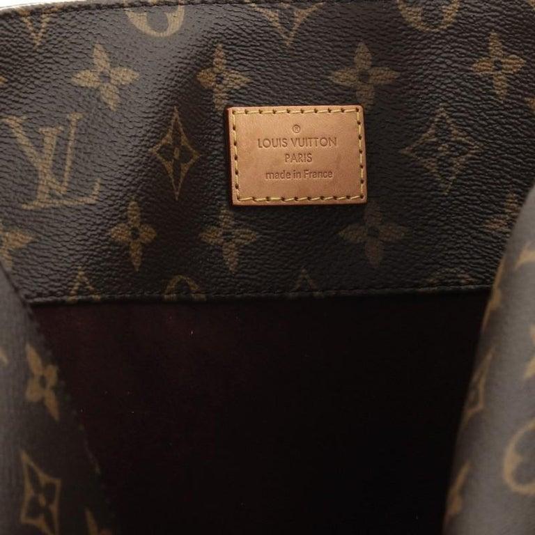 Louis Vuitton Melie Handbag Monogram Canvas For Sale 1