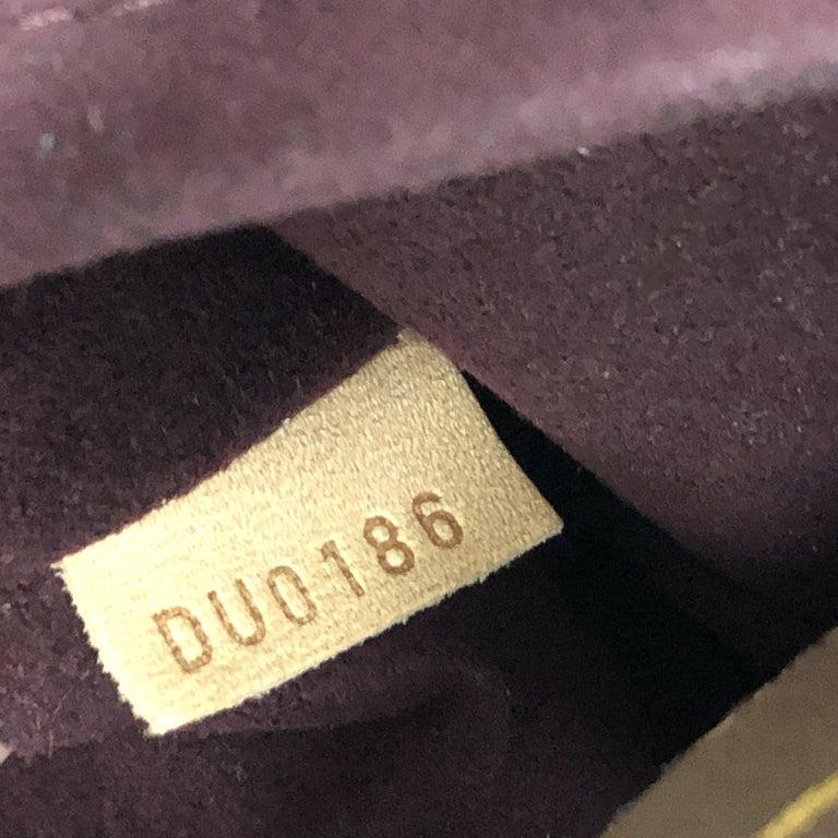 Louis Vuitton Melie Handbag Monogram Canvas For Sale 2