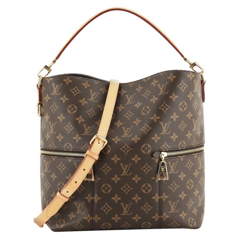 Louis Vuitton Melie Handbag Monogram Canvas For Sale