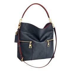 Louis Vuitton Melie Navy Leather Empreinte Hobo Bag ,Monogram Leather
