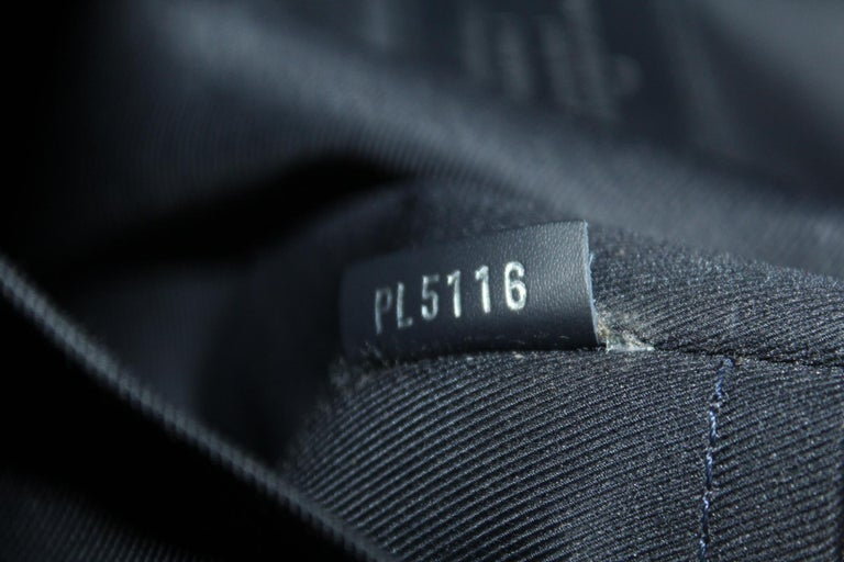 Louis Vuitton Messenger Encre Monogram Chapman Savane Black/Blue For Sale 1
