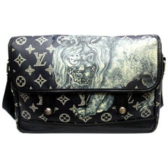 Louis Vuitton Messenger Encre Monogram Chapman Savane Black/Blue
